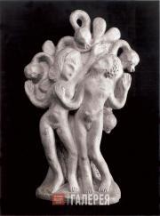 Archipenko Alexander. Adam and Eve. c. 1909