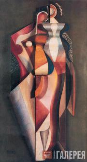 Archipenko Alexander. Two Women. 1920