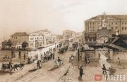 Moscow School of Painting and Sculpture on Myasnitskaya Street. 19th century