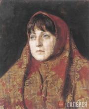 S.N. Troshin. Woman's Portrait in Costume. 2004