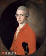 Gainsborough Thomas. Portrait of Thomas Linley the Younger. c. 1772
