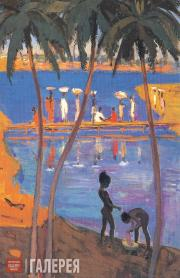 Mirel SHAGINYAN. Guinea. Children and Women by the Ocean. 1960