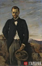 Zuloaga Ignacio. Portrait of Ivan Shchukin. 1899