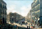 Gaetano Gigante. View of Spirito Santo Church and Via Toledo. 1837