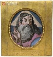 Mikhail Lomonosov's workshop. God Father (Sabaoth).  1756-1757