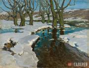 Purvītis Vilhelms. Early Spring. 1898-1899
