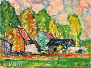 Purvītis Vilhelms. Summer Landscape. 1920-1925
