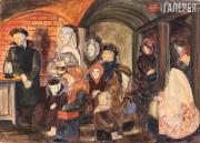 Глебова Татьяна. В блокаду. 1942
