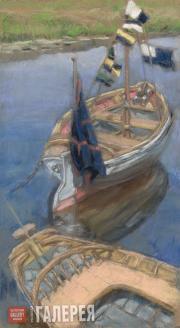Yakunchikova Maria. Boats. Lyubimovka. 1895