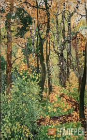 Golovin Alexander. A View at Detskoe Selo. 1920s