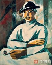 Goncharova Natalia. A Smoking Man. 1911