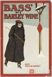 Генри Джордж ГОУТОРН. Басс № 1: ячменное пиво – лучший зимний напиток! 1900-е