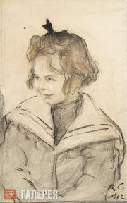 Serov Valentin. Sonya Guchkova. 1902