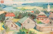 Polenov Vasily. A Provincial Town (Tarusa). 1910s