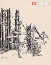 Якунчикова Мария. Кресты. 1898