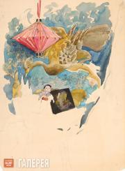 Якунчикова Мария. Китайский фонарик. Конец 1880-х