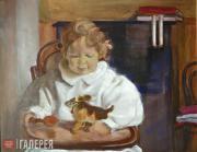 Léon Bakst. Andrey Bakst's portrait. 1908