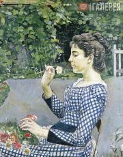 Hodler Ferdinand. Bildnis Hélène Weiglé. 1888