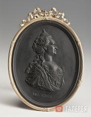 Портрет Екатерины II. Ок. 1780