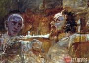 Христос и разбойник. 1893