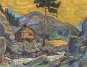 Nikolai Roerich. Solveig's Hut. 1912