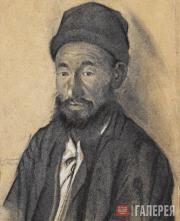 Devletkildeyev Kasim. Ibrahim, a Bashkir. 1928