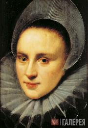 Anonymous. Female Portrait. Early 17th century