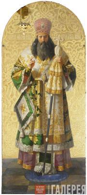 Федор Павлович Брюллов. Святой Алексей, митрополит Московский и всея Руси. 1847–