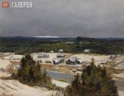 Polenov Vasily. Sugar Hill in Winter. Early 1870s