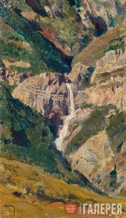 Polenov Vasily. Crimea. The Uchan-su Waterfall. 1887