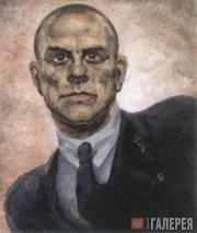 Pavel Sokolov-Skalya. Portrait of Vladimir Mayakovsky. 1930