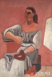 Женщина с палитрой. 1927