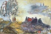 Slepyshev Anatoly. On the High Bank. 1996