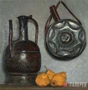 Г.М.КОРЖЕВ. Натюрморт с грушами