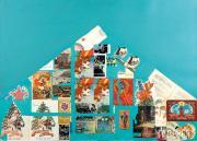 Rostislav LEBEDEV. Festive Collage. 1974