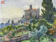 Tsigal Viktor. Italian Landscape. 1990
