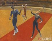 Tsigal Viktor. A Family of Acrobats. 1970-1975