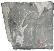 А.С. Голубкина. Собаки. 1913
