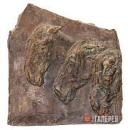 А.С. Голубкина. Лошади. 1908