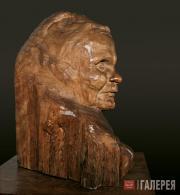 С.Т.КОНЕНКОВ Портрет сказительницы былин Марии Дмитриевны Кривополеновой. 1916