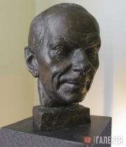 Grigory YASTREBENETSKY. Portrait of Nikolai Akimov. 1998
