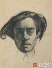 Alexander Siegfried Borchardt Levy-Benois di Stetto. Self-portrait. 1930s
