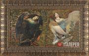 Васнецов Виктор. Сирин и Алконост. Песнь радости и печали. 1896