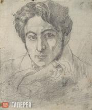 Bruni Fyodor. Self-portrait. 1835