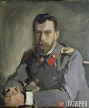 Serov Valentin. Portrait of the Emperor Nicholas II. 1900