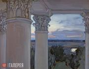 Якунчикова Мария. Из окна старого дома. Введенское. 1897