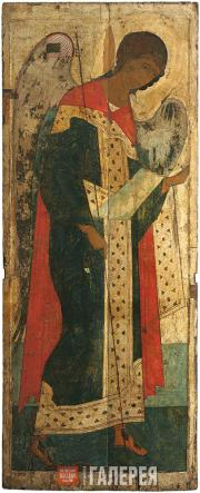 Michael the Archangel from the Deesis tier of the Dormition Cathedral in Vladimi