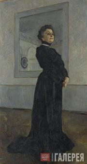 Serov Valentin. Portrait of Maria Yermolova. 1905