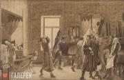 Fedotov Pavel. The First Morning of a Deceived Newly-wed Husband. 1844