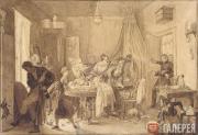 Fedotov Pavel. The Demise of Fidelka. 1844